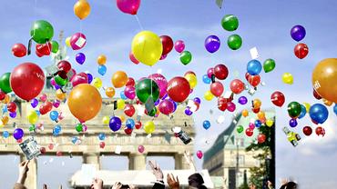 Collage Luftballons