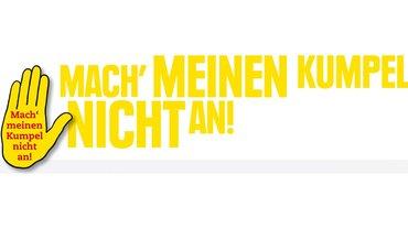 Klare Ansage schon im Logo der Gelben Hand