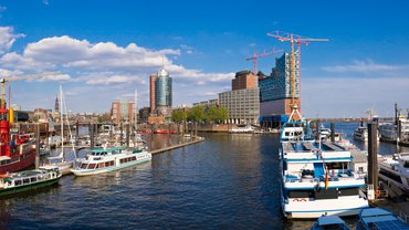 Hafen Hamburg Panorama