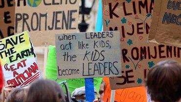 Klima Demo Klimaschutz Fridays for future